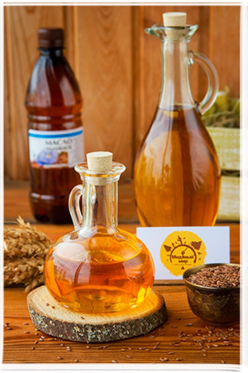 Льняное масло 0.5 л