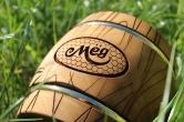 Деревянный бочонок для мёда, 2 кг