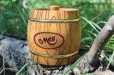 Деревянный бочонок для мёда, 4 кг