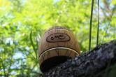 Деревянный бочонок для мёда, 0,5 кг
