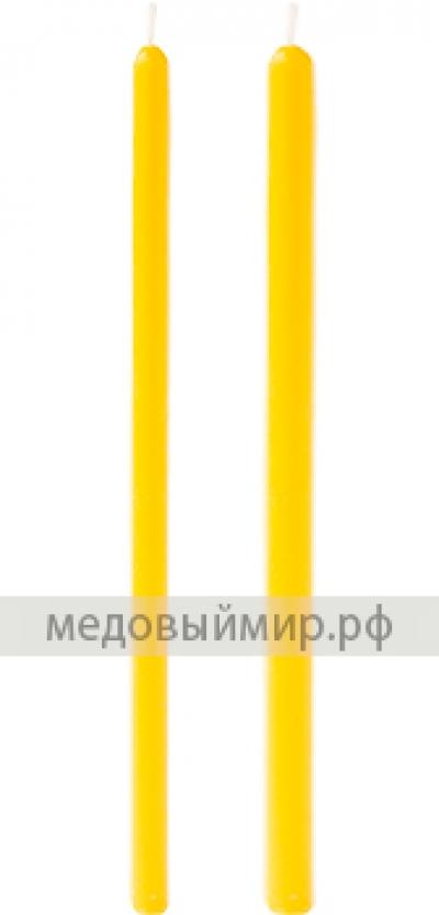 """Восковая свеча """"средняя"""""""